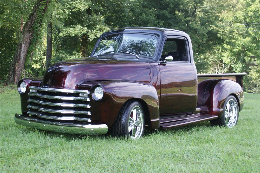 1953 Chevrolet Custom 1 2 Ton Pickup 102047