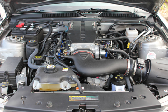 2008 FORD SALEEN MUSTANG 25TH ANNIVERSARY EDITION - Engine - 102057