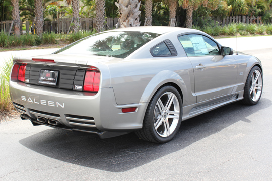2008 FORD SALEEN MUSTANG 25TH ANNIVERSARY EDITION - Rear 3/4 - 102057