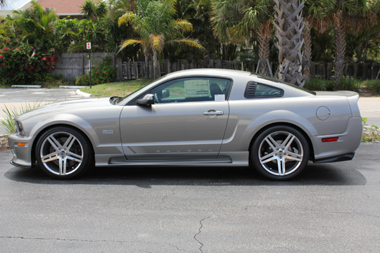 2008 FORD SALEEN MUSTANG 25TH ANNIVERSARY EDITION - Side Profile - 102057