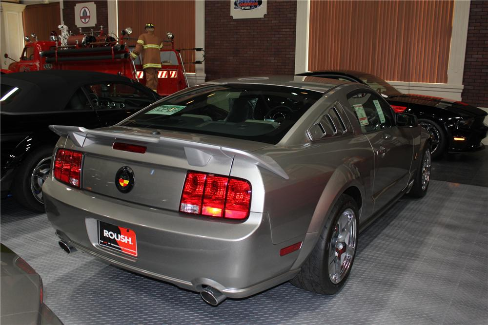 2008 FORD MUSTANG ROUSH P-51A - Rear 3/4 - 102058