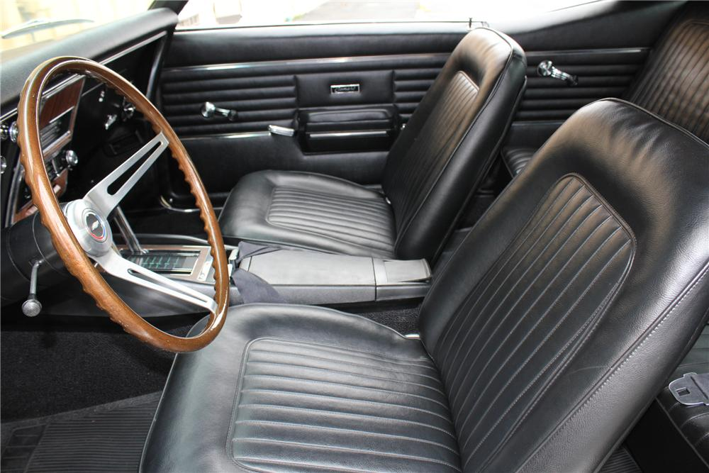 1968 CHEVROLET CAMARO RS/SS 2 DOOR COUPE - Interior - 102061