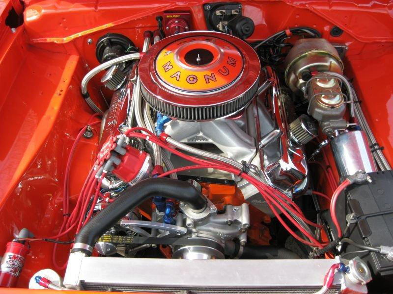 1971 DODGE DEMON CUSTOM 2 DOOR COUPE - Engine - 102062