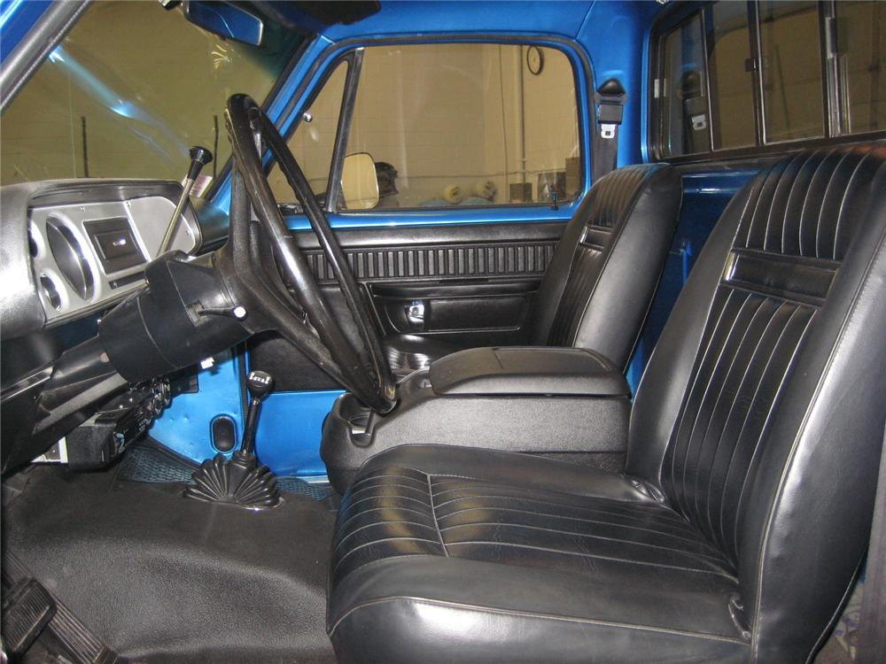 1976 DODGE D-200 PICK UP - Interior - 102066