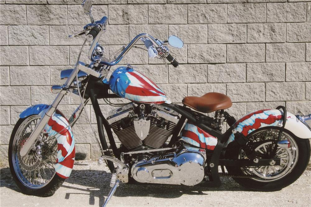 2010 ORANGE COUNTY CHOPPERS CUSTOM CHOPPER - Side Profile - 102067