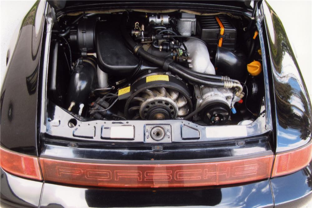 1989 PORSCHE 911 CARRERA 4 2 DOOR COUPE - Engine - 102078