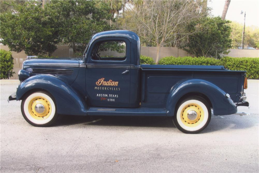 1939 FORD PICKUP - Side Profile - 102079