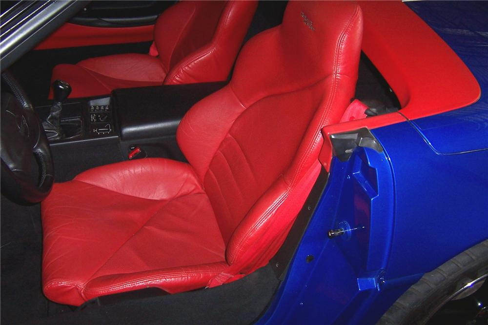 1996 CHEVROLET CORVETTE GRAND SPORT CONVERTIBLE - Interior - 102082