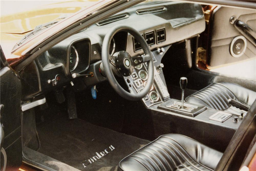 1971 DE TOMASO PANTERA CUSTOM COUPE - Interior - 102085
