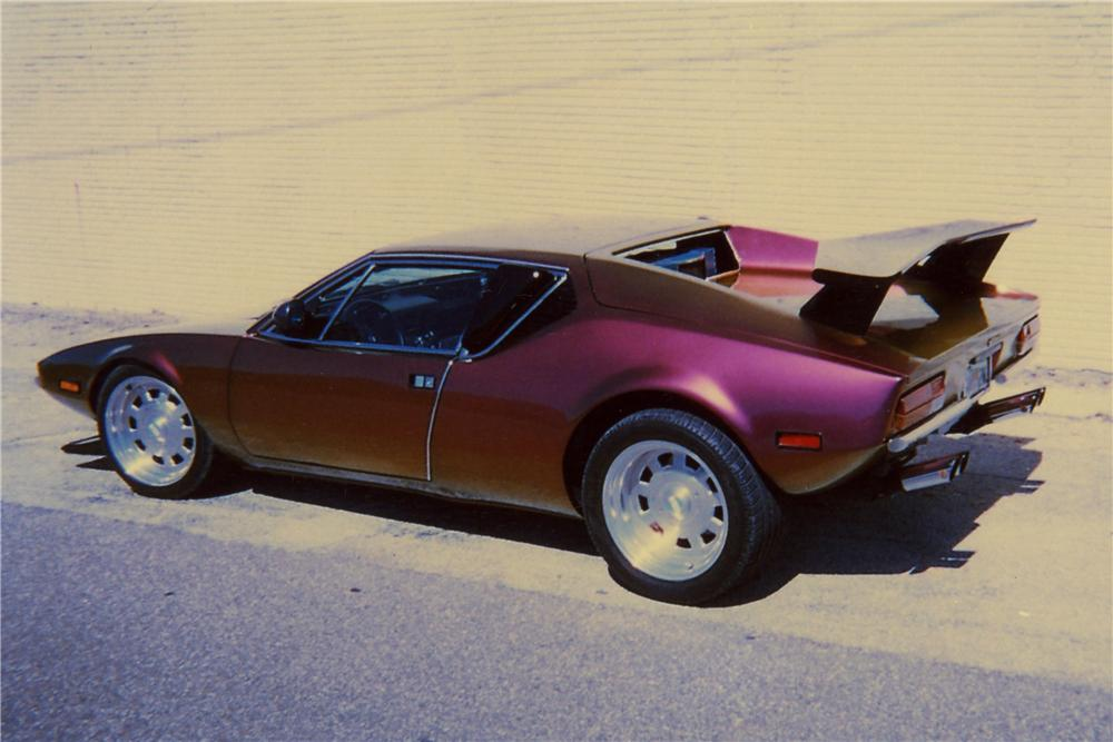 1971 DE TOMASO PANTERA CUSTOM COUPE - Rear 3/4 - 102085