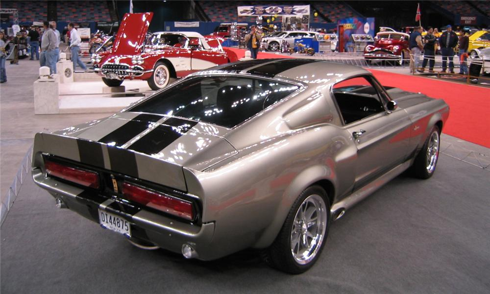 1968 FORD MUSTANG CUSTOM FASTBACK - Rear 3/4 - 102105