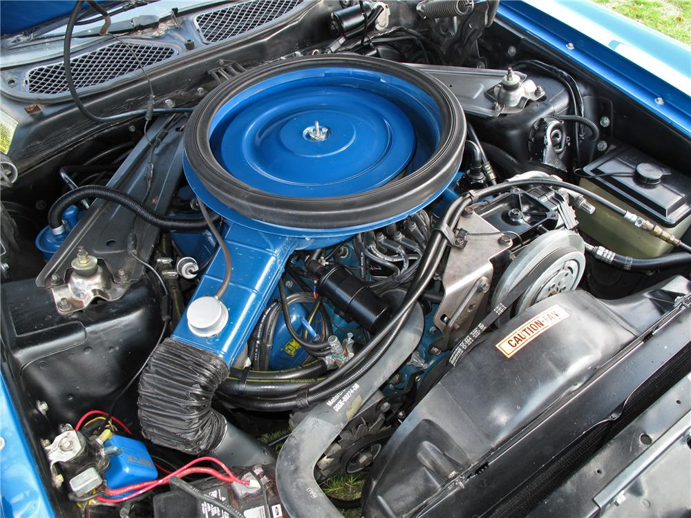 1973 FORD MUSTANG MACH 1 2 DOOR FASTBACK - Engine - 102128