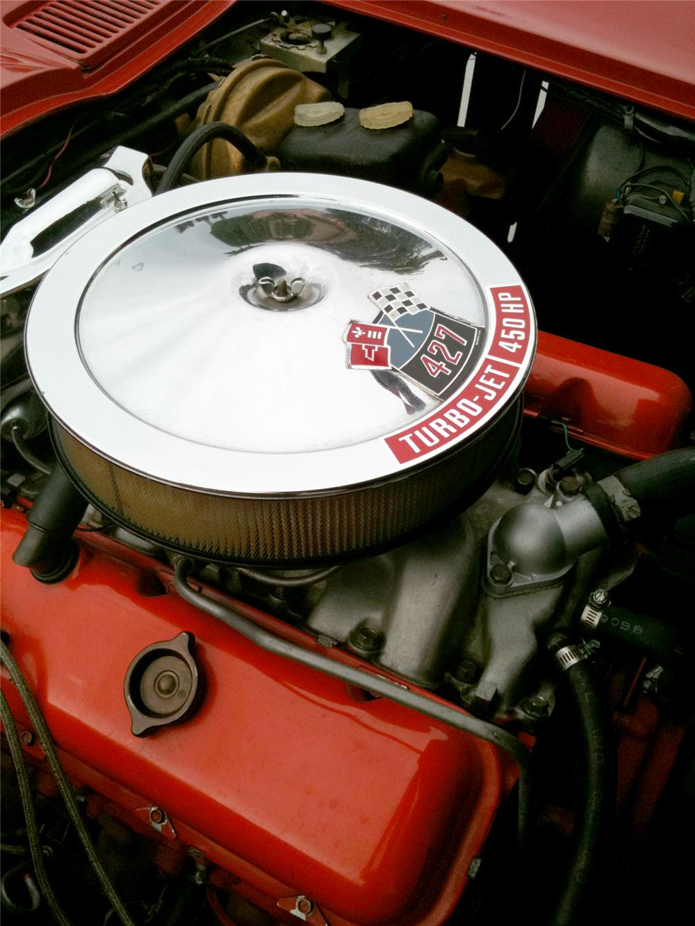 1966 CHEVROLET CORVETTE CONVERTIBLE - Engine - 102130