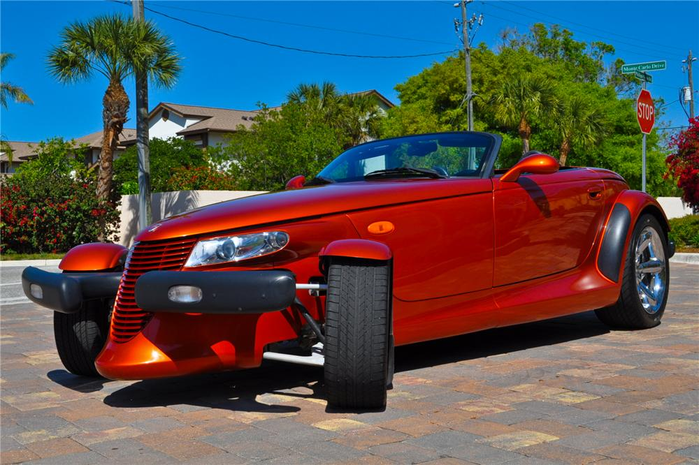 2001 PLYMOUTH PROWLER CONVERTIBLE - Front 3/4 - 102131