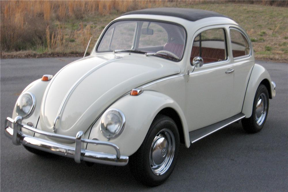 1971 VOLKSWAGEN BEETLE CANVAS SUNROOF COUPE RE-CREATION - Front 3/4 - 102133