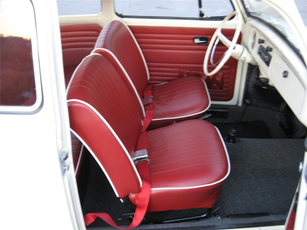 1971 VOLKSWAGEN BEETLE CANVAS SUNROOF COUPE RE-CREATION - Interior - 102133