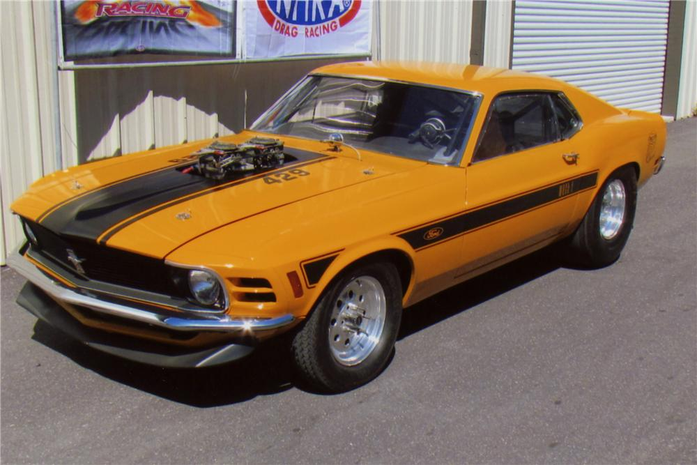 1970 FORD MUSTANG MACH 1 FASTBACK - Front 3/4 - 102134
