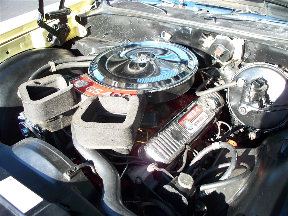 1969 BUICK GS CONVERTIBLE - Engine - 102135