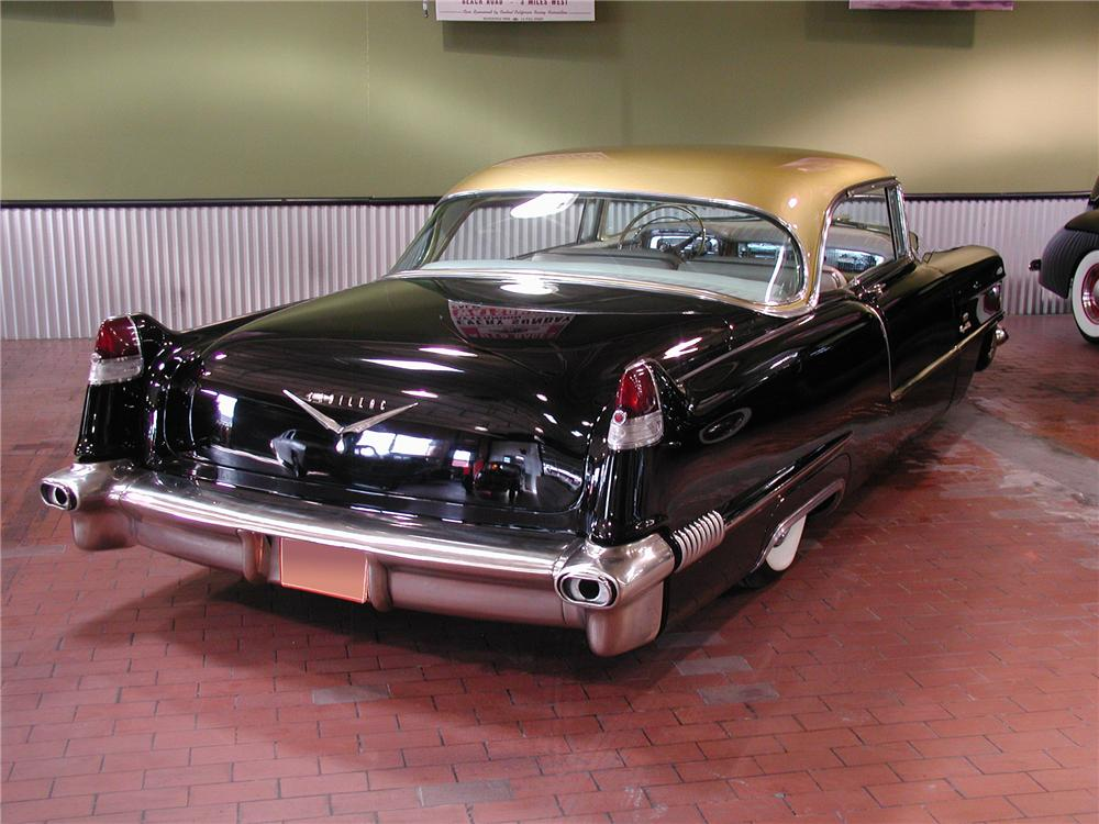 1956 CADILLAC COUPE DE VILLE CUSTOM 2 DOOR HARDTOP - Rear 3/4 - 102137