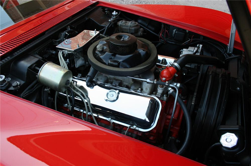 1968 CHEVROLET CORVETTE CONVERTIBLE - Engine - 102138
