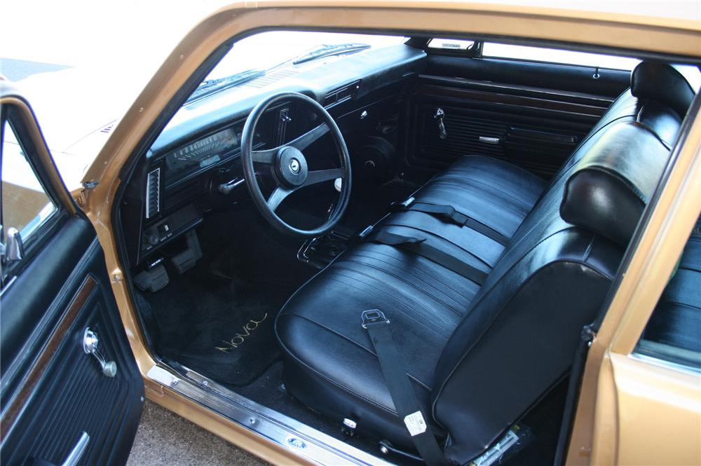 1971 CHEVROLET NOVA YENKO RE-CREATION - Interior - 102139