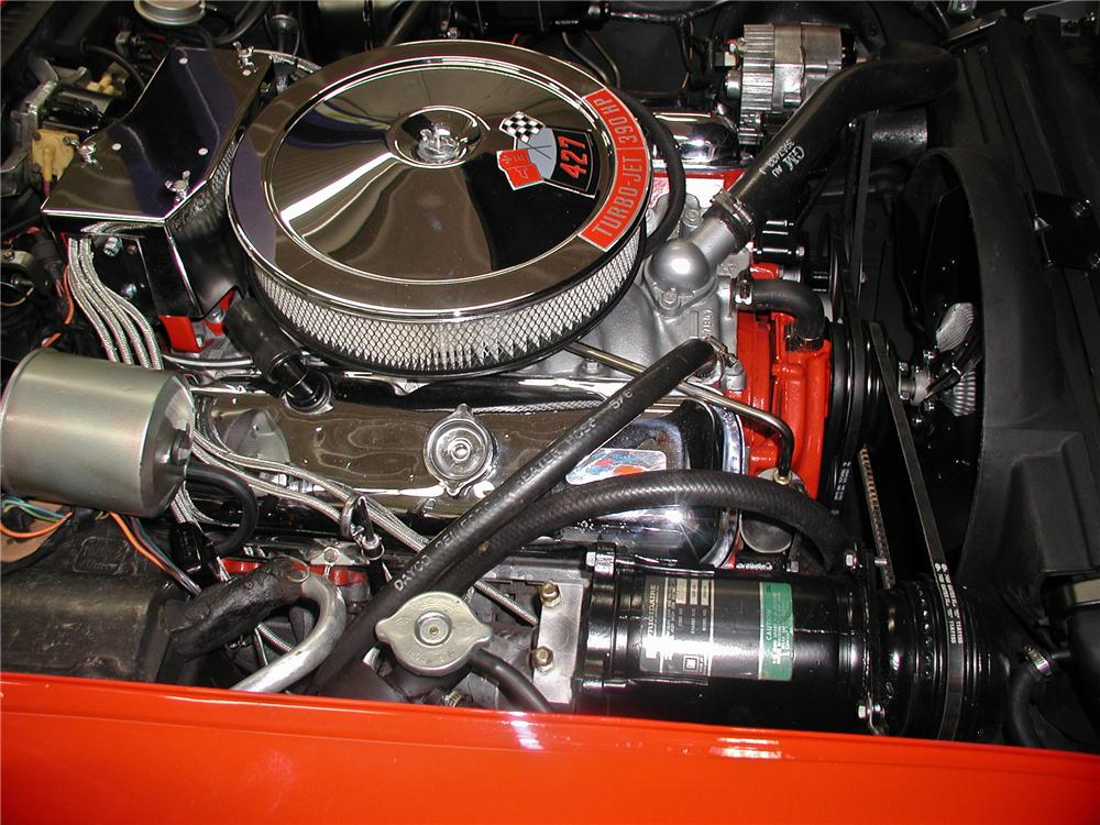 1969 CHEVROLET CORVETTE CONVERTIBLE - Engine - 102141