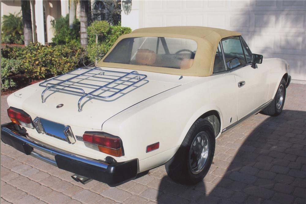 1980 FIAT SPYDER 2000 CONVERTIBLE - Rear 3/4 - 102143