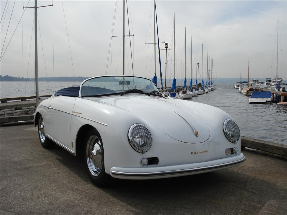 1957 PORSCHE SPEEDSTER RE-CREATION - Front 3/4 - 102144