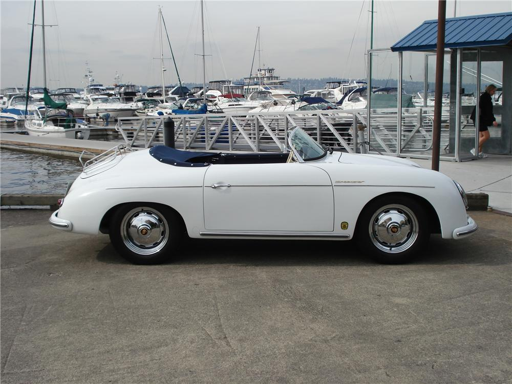 1957 PORSCHE SPEEDSTER RE-CREATION - Side Profile - 102144