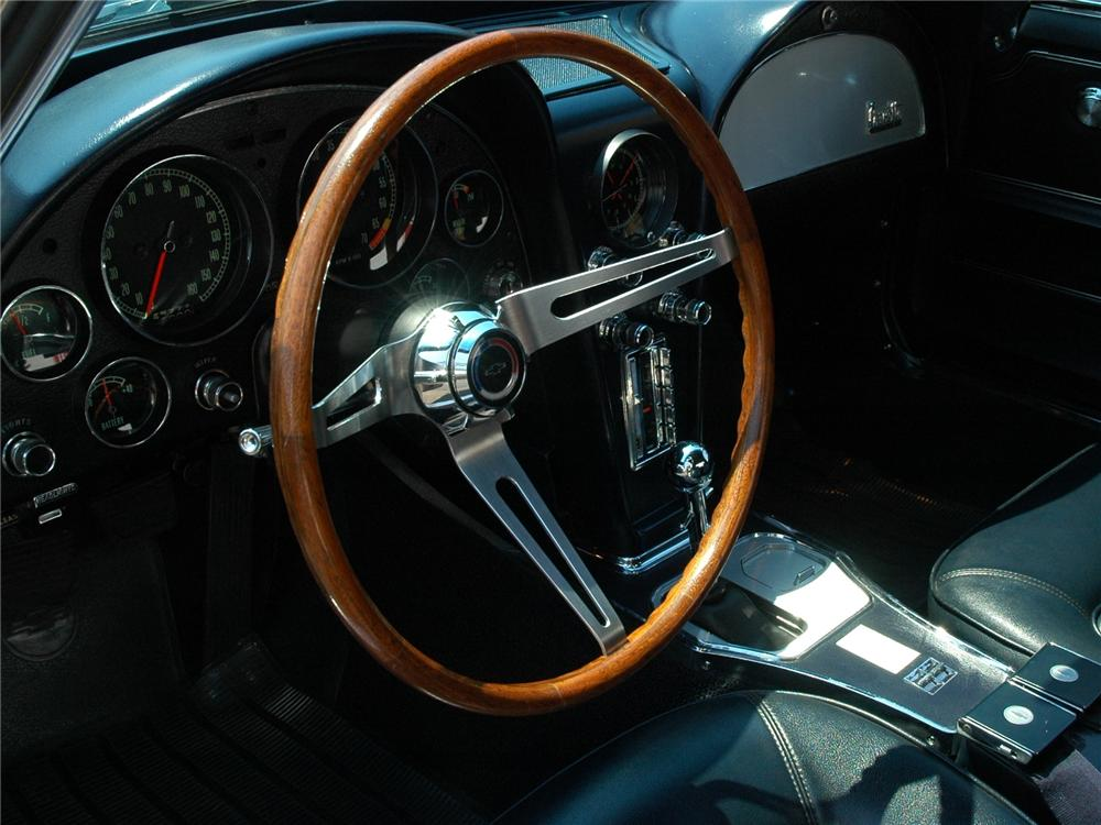 1966 CHEVROLET CORVETTE 2 DOOR COUPE - Interior - 102150