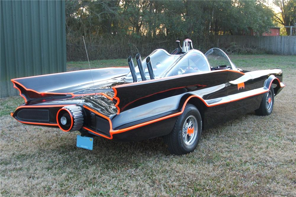 1977 LINCOLN 1966 BATMOBILE REPLICA - Rear 3/4 - 102152