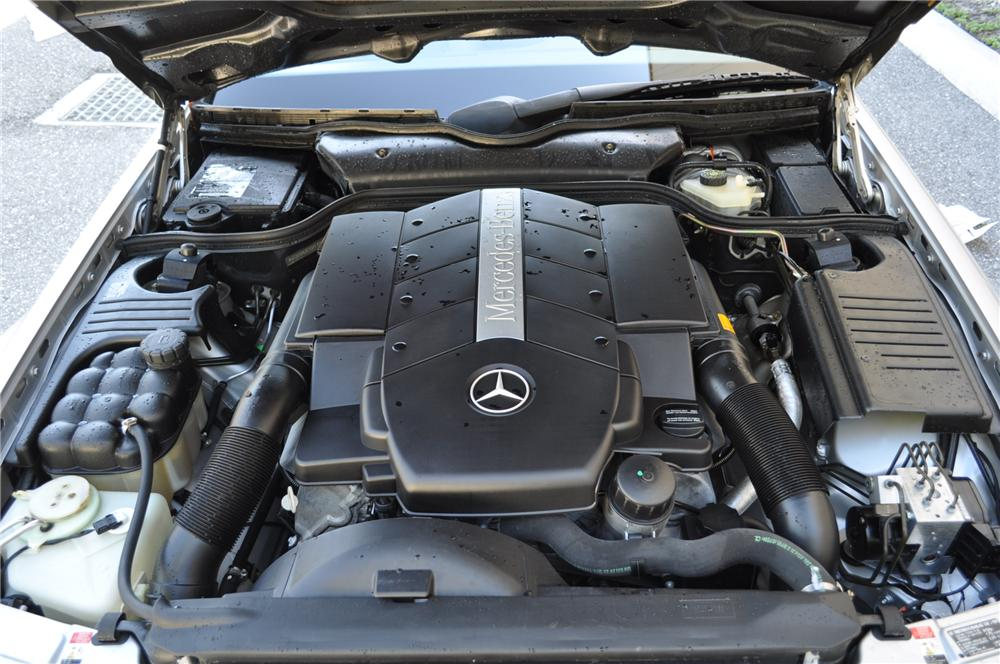 1999 MERCEDES-BENZ 500SL CONVERTIBLE - Engine - 102254