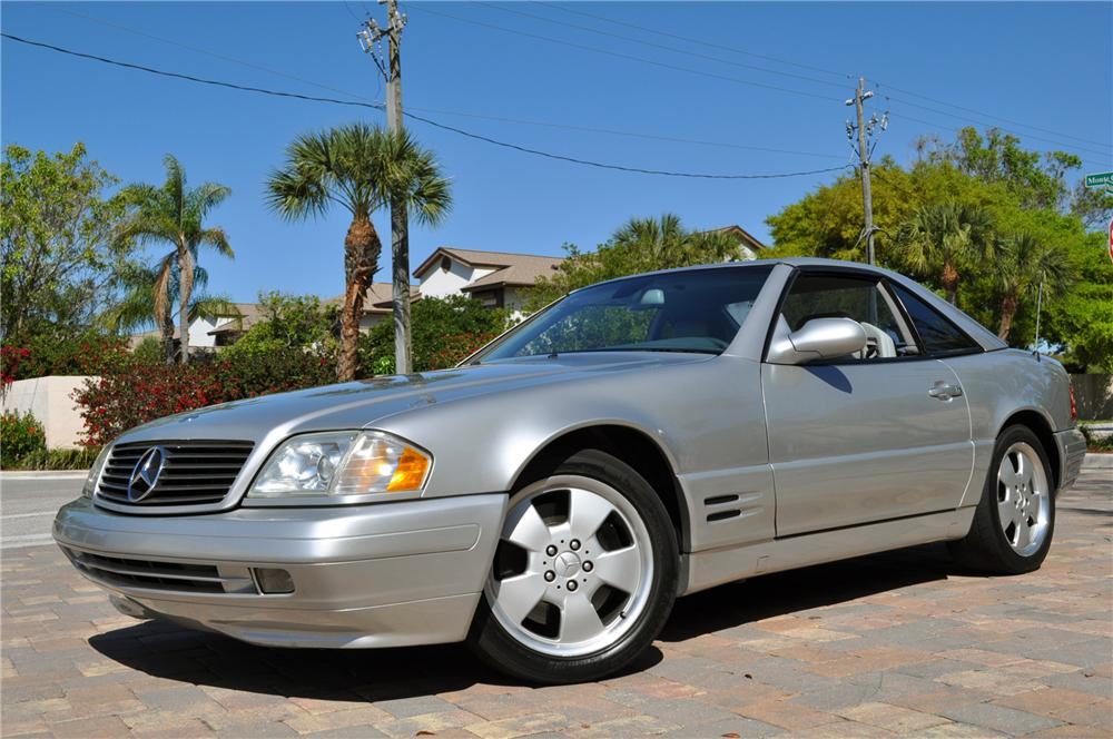 1999 MERCEDES-BENZ 500SL CONVERTIBLE - Front 3/4 - 102254