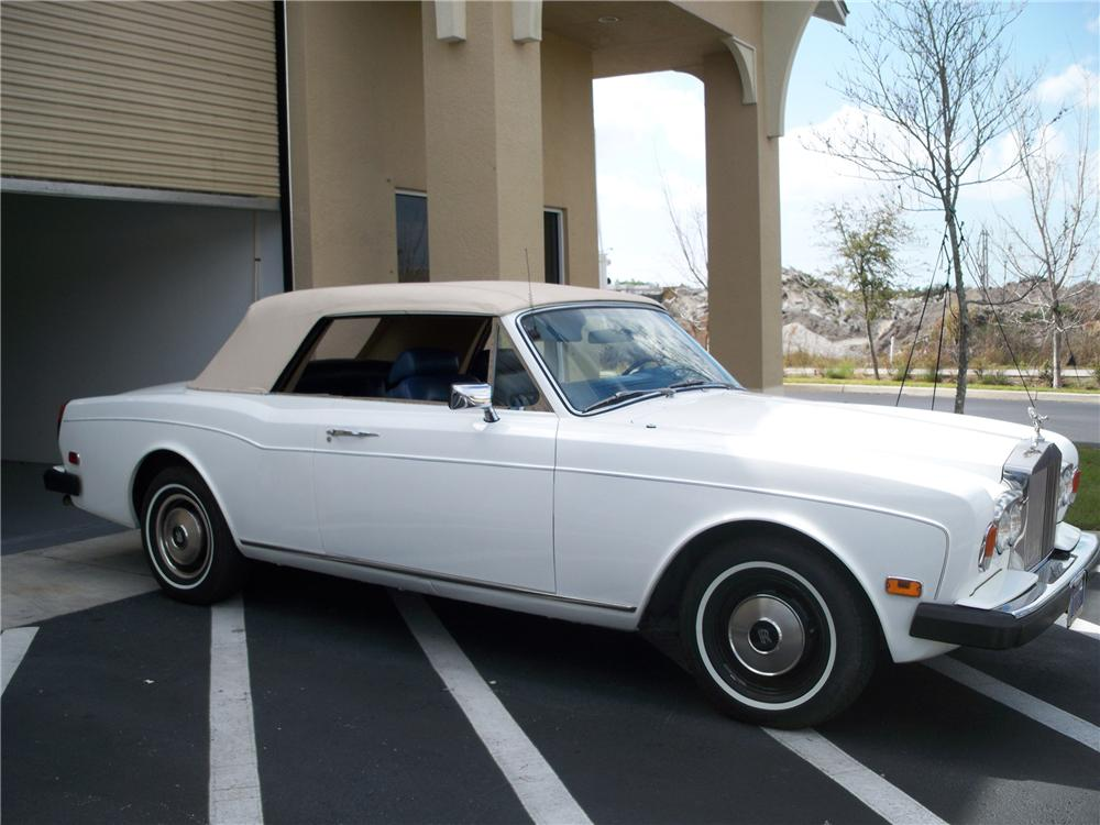 1979 ROLLS-ROYCE CORNICHE CONVERTIBLE - Side Profile - 102255