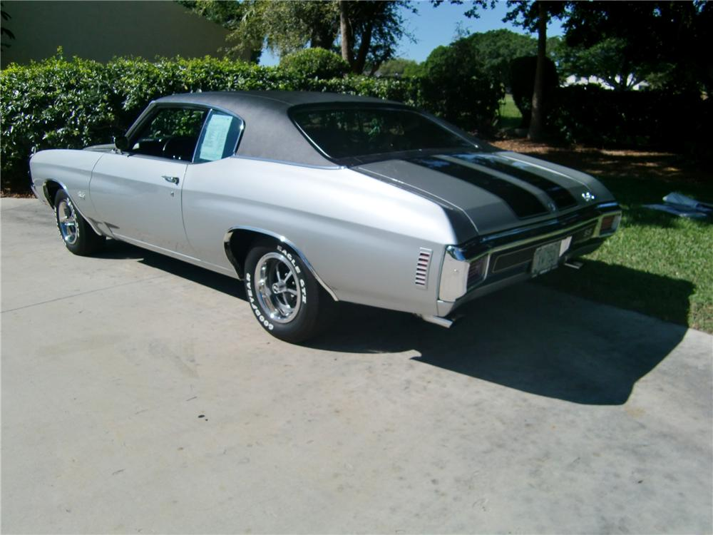 1970 CHEVROLET CHEVELLE SS 396 COUPE - Rear 3/4 - 102262