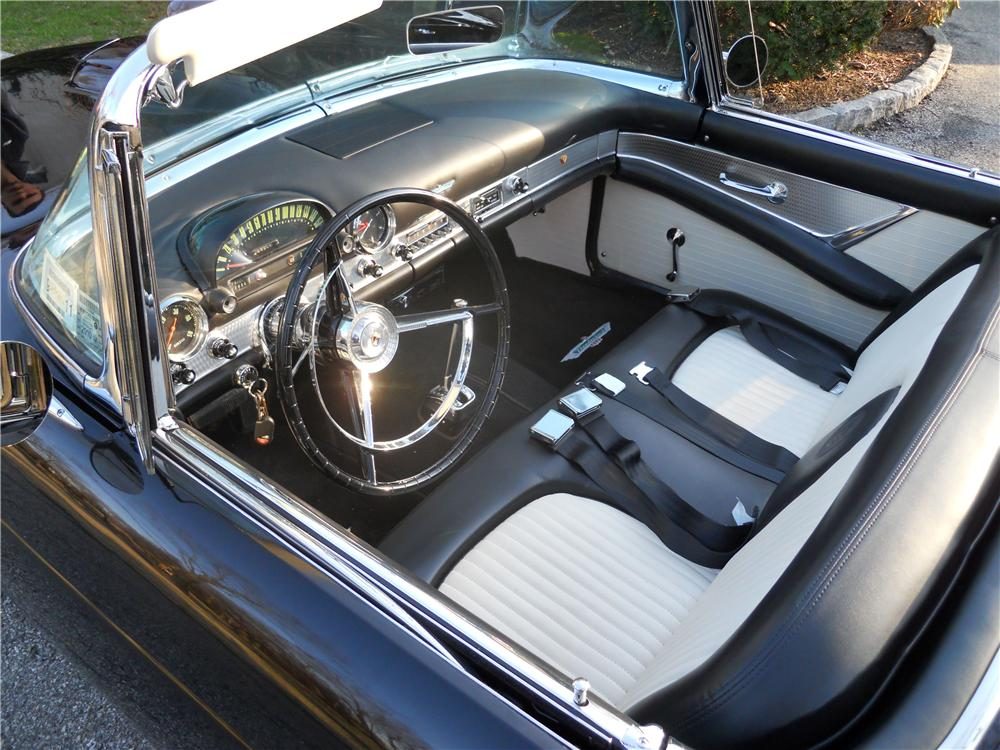 1956 FORD THUNDERBIRD CONVERTIBLE - Interior - 102295