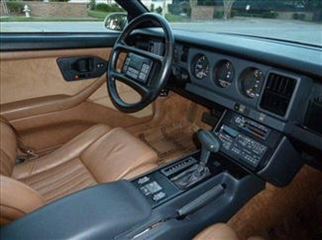 1989 PONTIAC FIREBIRD TRANS AM 20TH ANNIVERSARY COUPE - Interior - 102302