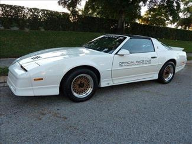 1989 PONTIAC FIREBIRD TRANS AM 20TH ANNIVERSARY COUPE - Side Profile - 102302
