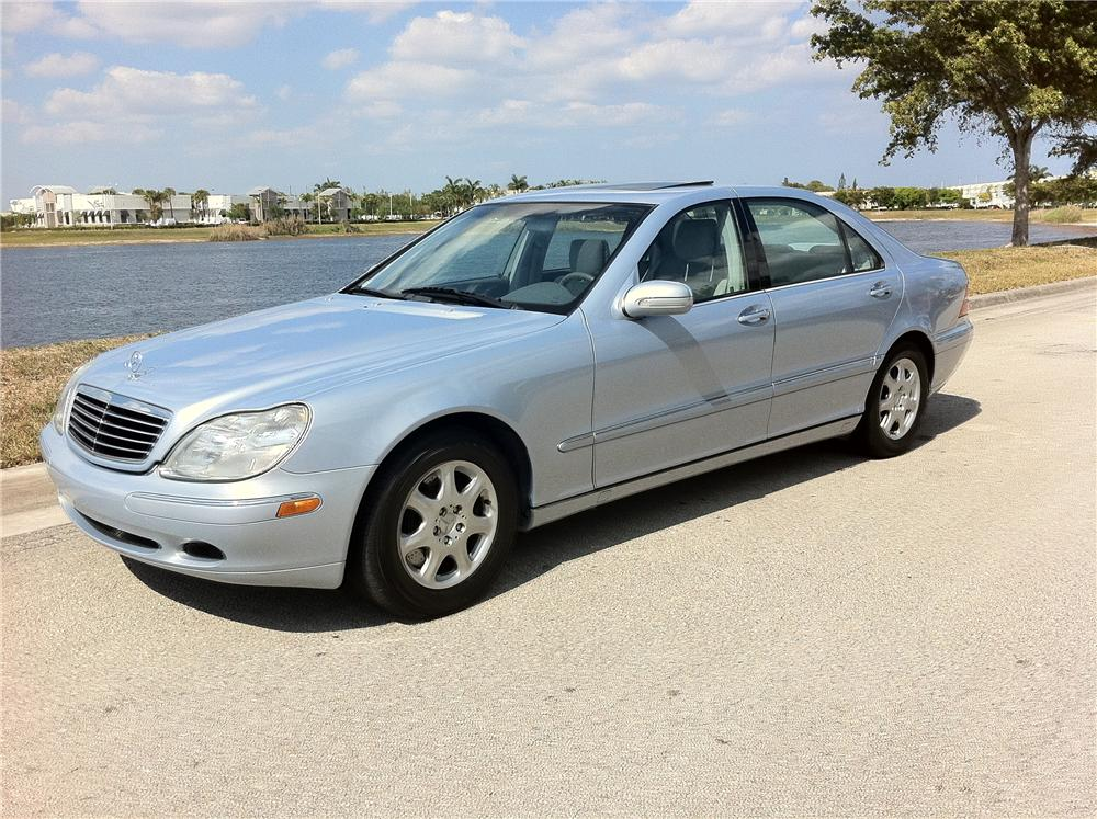 2000 MERCEDES-BENZ S430 4 DOOR SEDAN - Front 3/4 - 102306