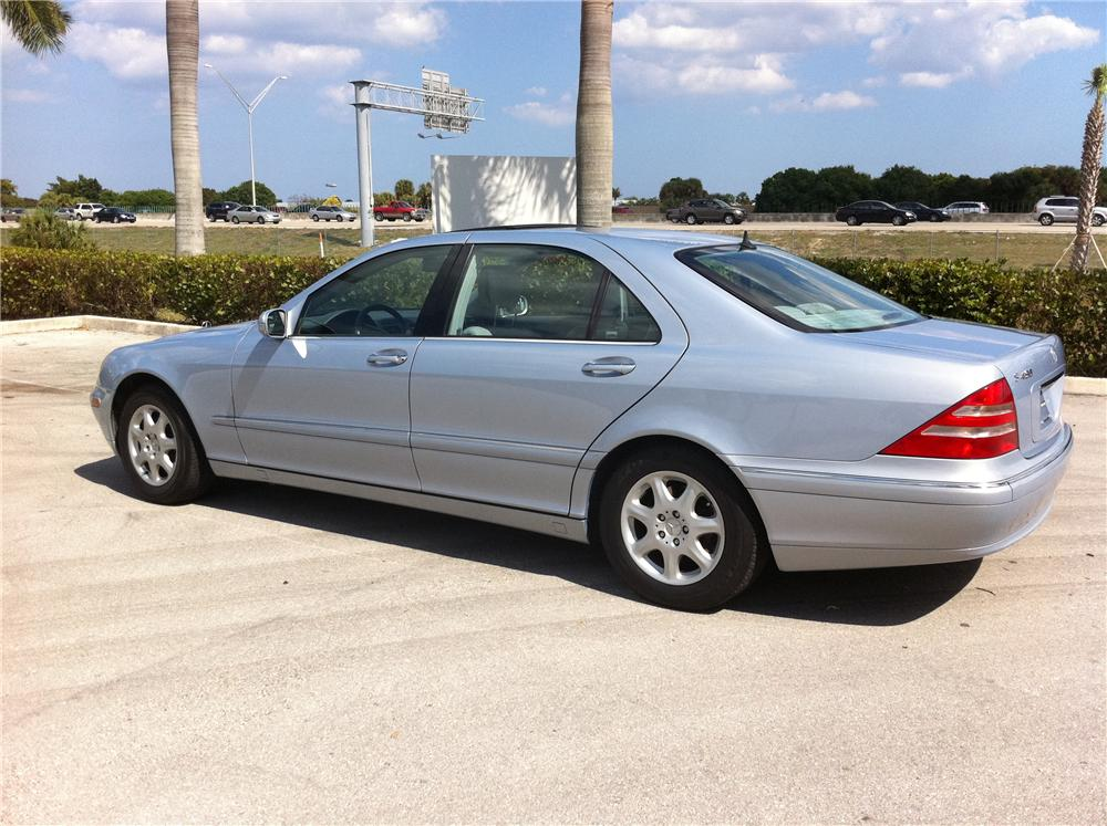 2000 MERCEDES-BENZ S430 4 DOOR SEDAN - Rear 3/4 - 102306