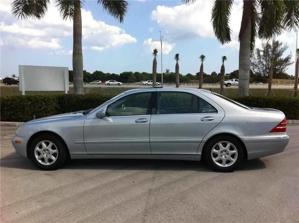 2000 MERCEDES-BENZ S430 4 DOOR SEDAN - Side Profile - 102306