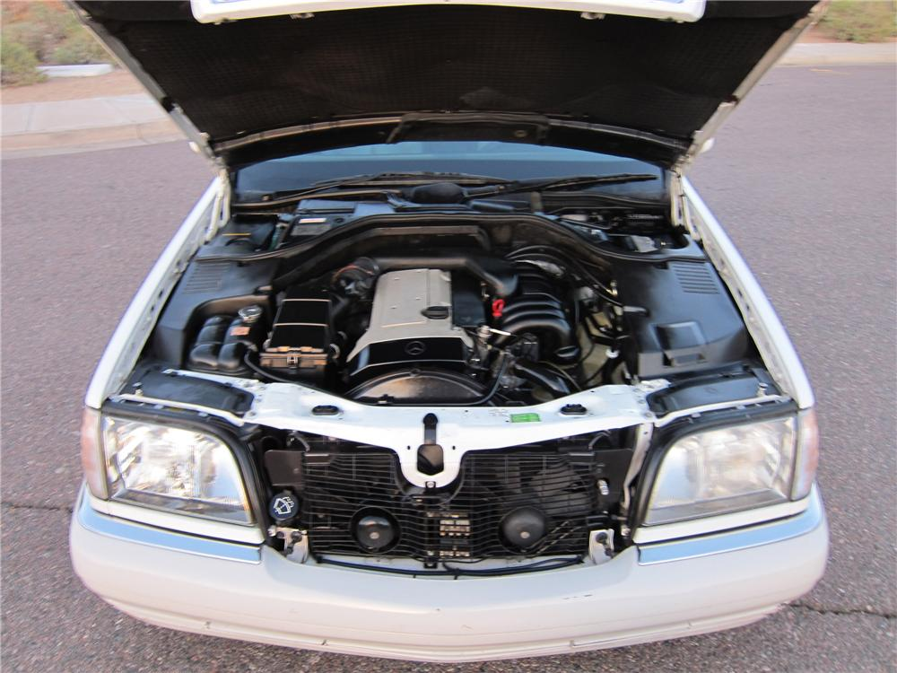 1995 MERCEDES-BENZ S320 4 DOOR SEDAN - Engine - 102314