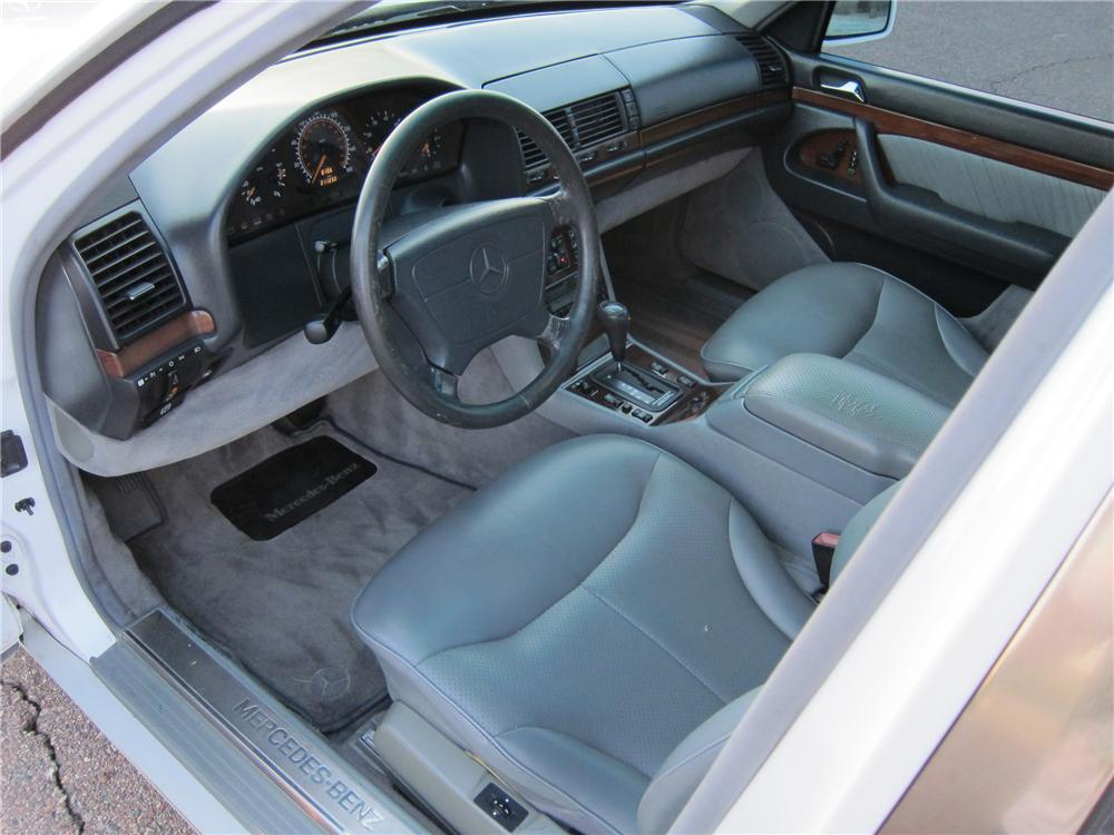 1995 MERCEDES-BENZ S320 4 DOOR SEDAN - Interior - 102314