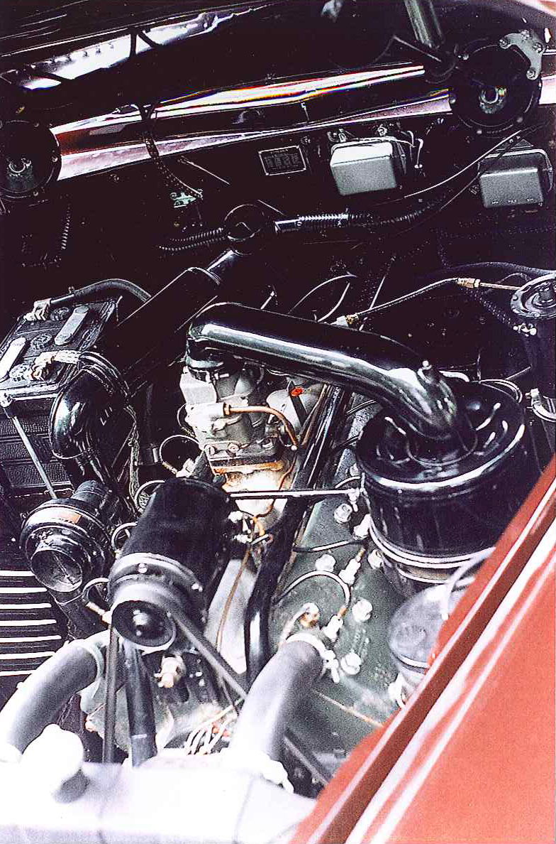 1946 LINCOLN CONTINENTAL COUPE - Engine - 102317