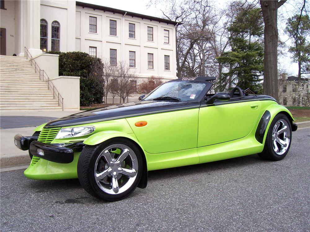 1999 PLYMOUTH PROWLER CONVERTIBLE - Side Profile - 102318