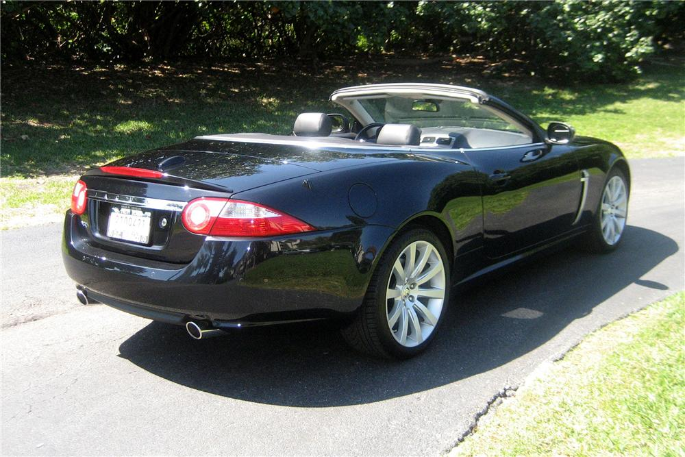 2007 jaguar xk 2 door convertible 102373. Black Bedroom Furniture Sets. Home Design Ideas