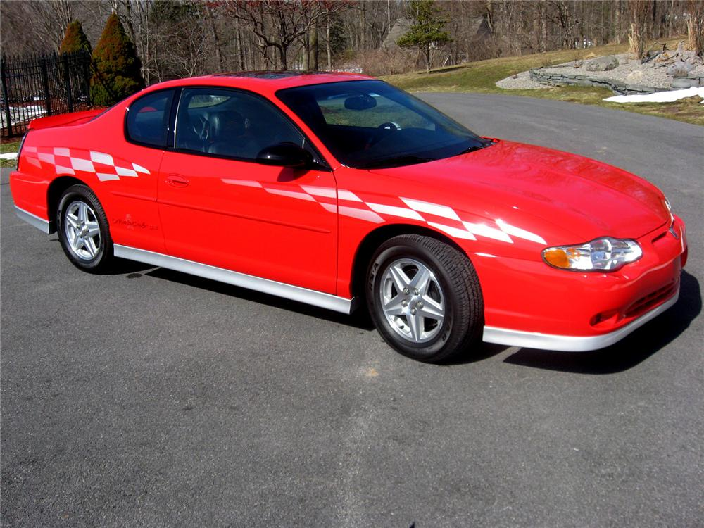 2000 CHEVROLET MONTE CARLO PACE CAR SS COUPE102413