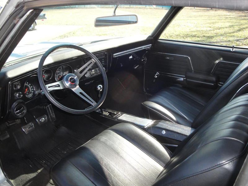 1969 CHEVROLET CHEVELLE SS 396 2 DOOR COUPE - Interior - 102533