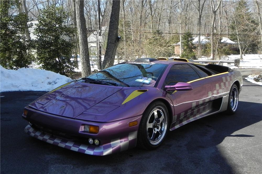 1991 LAMBORGHINI DIABLO 2 DOOR CUSTOM COUPE - Front 3/4 - 102593