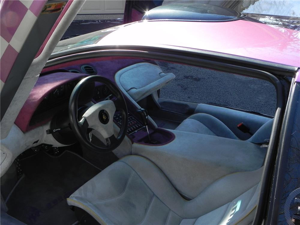 1991 LAMBORGHINI DIABLO 2 DOOR CUSTOM COUPE - Interior - 102593